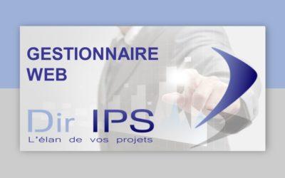 Gestionnaire WEB : retour sur le webinaire Dir IPS