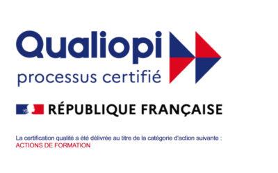 Dir IPS certifié Qualiopi pour ses actions de formation