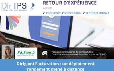 DirIgami Facturation : témoignage de l'Alged