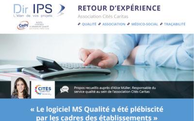 MS Qualité : témoignage de l'association Cités Caritas